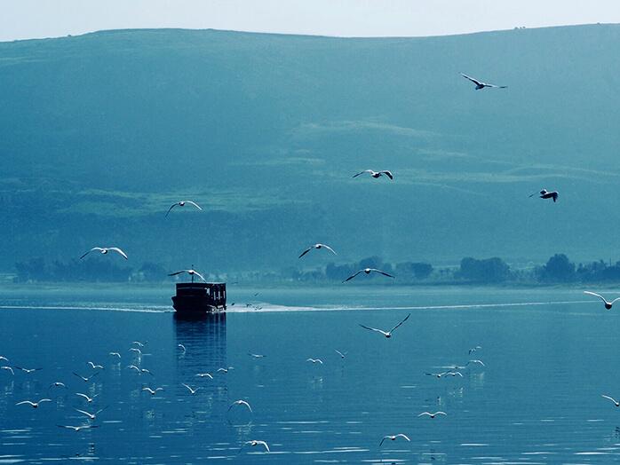 ガリラヤ湖周辺